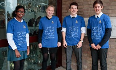Top marks in Hans Woyda Maths Competition