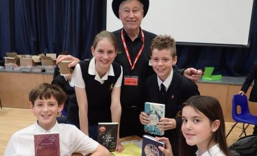 Kids' Lit book quiz success