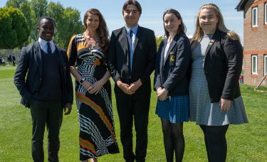 Colfe's pupils join National Youth Theatre