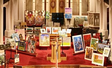 Students sell artwork at local exhibition