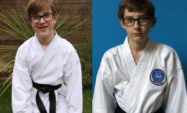 Double black belt celebration