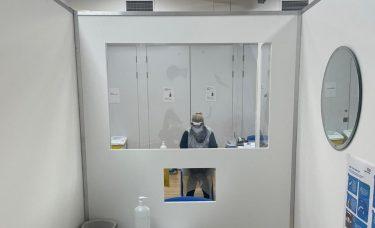 COVID test centre opens